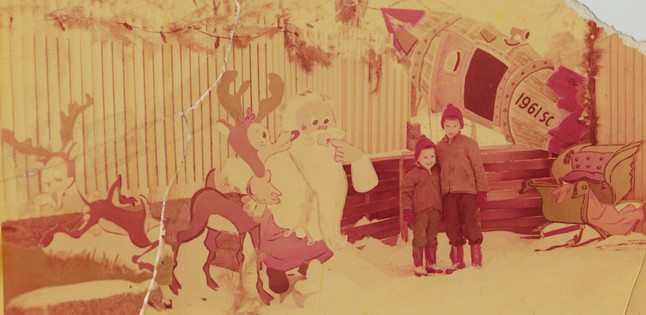 Phil Mires Christmas decorations 1961